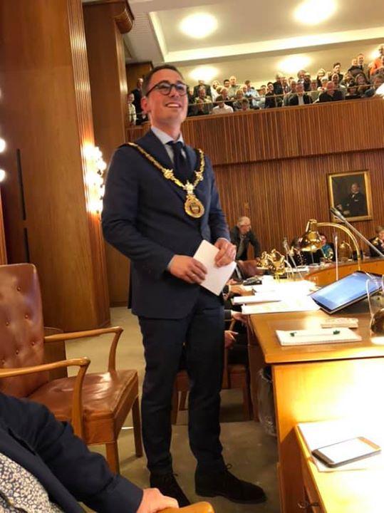 Til lykke til Frederiksberg m byens nye Borgmester Simo...
